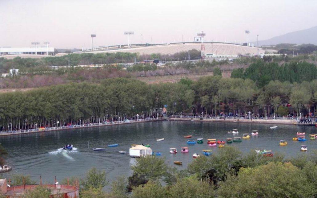 ماهیگیری در دریاچه ارم